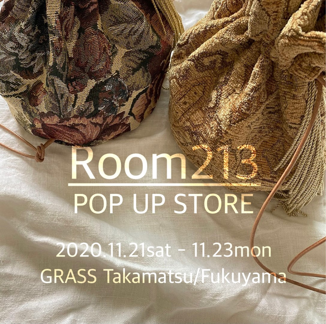 Room213 POP UP STORE